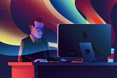 Manipulating CSS Colors with Javascript designed by Nick Matej. Connect with them on Dribbble; the global community for designers and creative professionals. Cyberpunk, Web Design, Graphic Design, Site Design, Icon Design, Graphic Art, Silver Spring, Show And Tell, Design Web