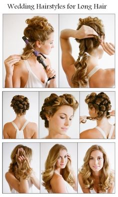 Wedding+Hairstyles+for+Long+Hair 15 Wonderful Hairstyle Tutorials For Long Hair