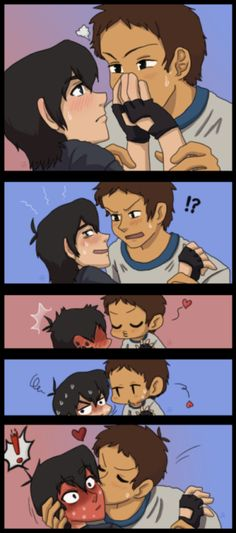 I love Klance ;3 ❤️ Rated PG for pretty gay. comics and art from one … #fanfikce Fan fikce #amreading #books #wattpad