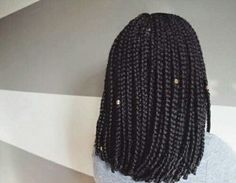 Short Box Braids #Short #Box #Braids