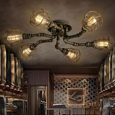 Ceiling Lights & Fans Orderly E27 Edison Retro Lamp Holder Antique Line Restaurant Bar Teahouse Ancient Lamp Suspension Pendant Light Lighting