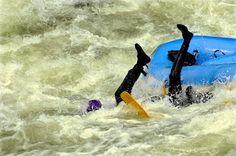 Bart doing the Lochsa River Dance. Lochsa River, ID.