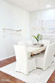 add a bit of an island vibe to your home with this easy coastal craft