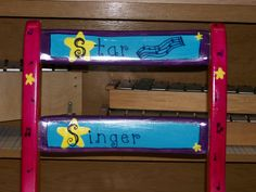 Made for Music Teachers: Setting Up a Music Classroom. Star singer chair.