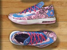a45530198141 KD 6 Aunt Pearl Floral Light Arctic Pink Photo Blue Vivid Pink 618216 600  Air Jordan
