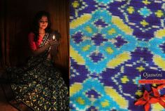 Buy here ~ http://shop.gaatha.com/buy-online-handwoven-telia-ikat-saree  Occasions are lining up… Marriages, festivities, gatherings and what not! Yet there is a part of you that demands to be at ease. As you carry yourself in these hand-woven Ikat sarees, there balanced vibrance brings you into a new light. When stares stop at the arresting array of patterns and the beaming you...You know you are the best version of yourself. #ikat #celebratinggsaree #sarees #handloom #Silk #buyonline…