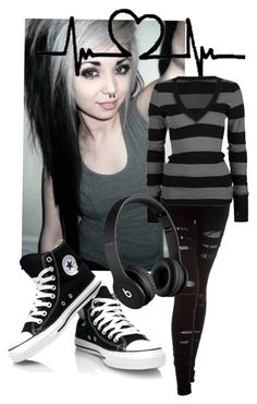 """""""Emo ^_*"""" by guccisawg-girl832 ❤ liked on Polyvore featuring Mode, Nightcap, Rip Curl und Beats by Dr. Dre"""