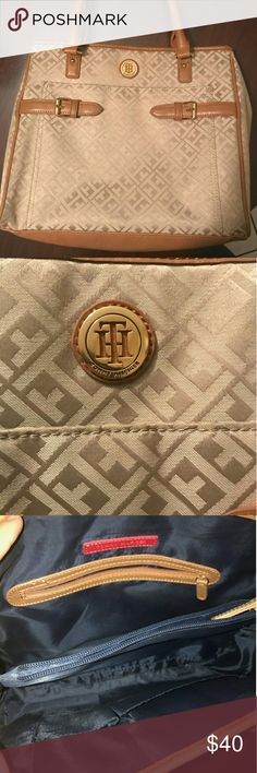 Tommy Hilfiger purse Used only twice no tears, Tommy Hilfiger Bags Totes