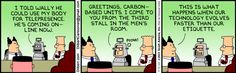 Dilbert comic strip for 04/04/2013 from the official Dilbert comic strips archive.