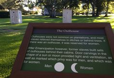Do you know this history behind plantation outhouses?
