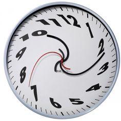 swirly clock