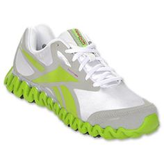 """The Reebok Zig is an """"energy drink for your feet."""" The Zig is designed to minimize the work performed by your leg muscles, so you can run easier, longer and farther. The Reebok Zig Running Shoe features an engineered lightweight foam as the outsole, allowing it to absorb the impact of heel strikes, while spreading it along the zigs and zags. The lightweight SmoothFit upper provides ultimate breathability."""