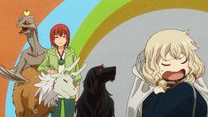 I love how Lindel complains about Elias! Mahoutsukai no Yome (魔法使いの嫁) Me Me Me Anime, Anime Love, Elias Ainsworth, Chise Hatori, The Ancient Magus Bride, Estilo Anime, Cool Cartoons, Anime Style, Shoujo