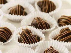 Bombones fáciles de chocolate