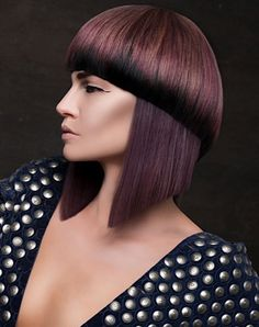 That bowl cut bangs!!! So doing this cut!