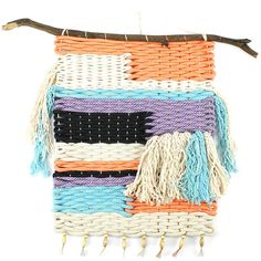 Freedom Woven Wallhanging - Large, Multi | Knots and Knits