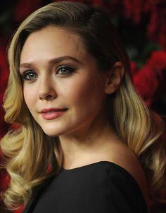 Elizabeth Olsen Retro Hairstyle