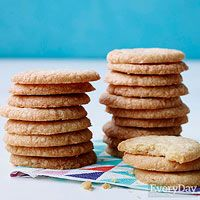 Quick and Easy Lemon Ginger Cookies