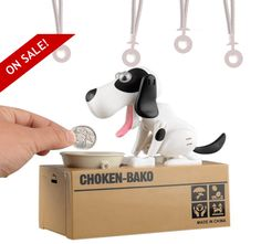 The world's cutest coin bank is BACK, Perfect for the animal-lover in your life.
