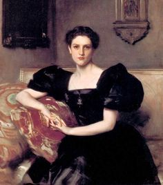 It's About Time: Dressing for Winter - Privileged women by John Singer Sargent 1856-1925