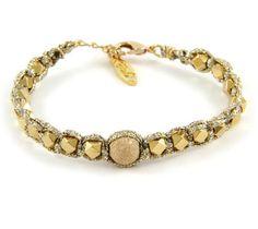 Gold Dusted Dream Bracelet in Metallic Sand