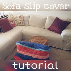Transform your sofa with this explanatory and easy to follow tutorial for DIY sofa slip covers from Drink Tea and Sew http://www.drinkteaandsew.com/?p=260