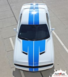 2015 2016 2017 Factory Dodge Challenger OEM Style Rally Plus Racing Hood Stripes Graphics and Decal Set! Ready to install . . .  A fantastic addition, using only Premium Cast 3M, Avery, or Ritrama Vinyl.