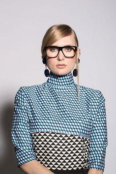 Model Dress By Malene Birger. Malene Birger, Victoria Beckham, Specs, Eyewear, Model, Accessories, Tops, Dresses, Vestidos