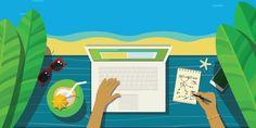 Tips e ideas para bloggers que se desmotivan en verano