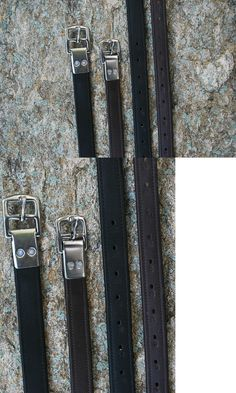 Stirrups 183379: Nwt Kl Select Black Oak Calf-Lined Stirrup Leather Brown 7 8 X 44 Riveted Buckle -> BUY IT NOW ONLY: $49 on eBay!