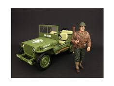 US Army WWII Figure I For 1:18 Scale Models by American Diorama - Packed in a blister pack. Only one figure will be received. Each standing figure is approximately 4 inches tall.-Weight: 1. Height: 5. Width: 9. Box Weight: 1. Box Width: 9. Box Height: 5. Box Depth: 5
