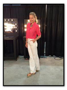 Para el último día en Miami Fashion Week, durante el cual ofrecí mi Master Class sobre Vestir con Estilo, elegí pantalones, camisa y collar de Pedro del Hierro, body interior de Woldford, rólex y sandalias de plataforma de Zara Home.