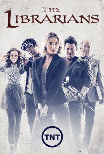 The Librarians (2014). Saw the show only two times and already I love it. Have already set DVR to record the whole series.