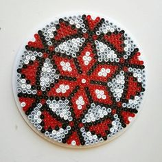 Mandala perler beads by pitestreetart