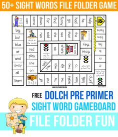 File Folder Game Learning to read sight words. Free Sight Word GameRead Read may refer to: READ may refer to:Word File Folder Game Learning to read sight words. Free Sight Word GameRead Read may refer to: READ may refer to: Teaching Sight Words, Sight Word Practice, Sight Word Games, Sight Word Activities, Spelling Word Games, Word Games For Kids, Word Bingo, Kindergarten Reading, Teaching Reading