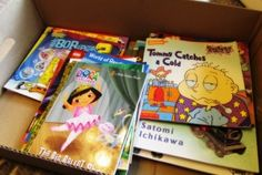 Support Literacy with a Simple service project #NickCFK Book Drive #cbias