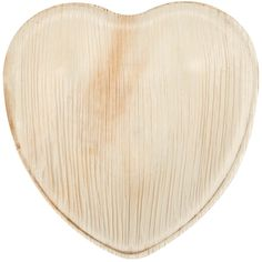 "The Eco-gecko sustainable 6 1/2"" heart palm leaf plate is an environmentally-friendly way to serve your culinary creations with a little bit of romance and whimsy. All Eco-gecko products are 100% natural, biodegradable, and compostable, and are an excellent, eco-friendly substitute for products made from foam and plastic! Each 6 1/2"" heart plate is made out of renewable fallen palm leaves. In addition to its natural beauty, this material breaks down quickly in landfills an..."
