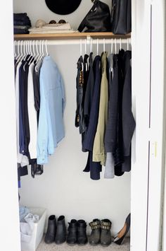 Spring Clean Your Wardrobe // A Minimalist Guide - The very first article I read about minimalism!