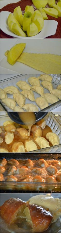 Country Apple Dumplings ~ these are impossibly delicious. They taste like a small piece of apple tart heaven!