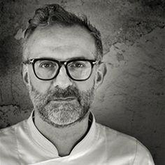 "Top Chef: Massimo Bottura. Sein L' Osteria Francescana, 3. bestes Restaurant der Welt. Sein Buch: ""Never Trust A Skinny Italian Chef"".  Serie: ""Chef's Table"" on Netflix (http://www.netflix.com/WiMovie/80007945)"
