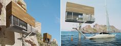 designed by the polish firm front architects, the single hauz is a prototype house created for the single person.   the design is inspired by freestanding billboards often seen near highways. this slim raised design makes them   suitable for many locations where building may be difficult, including on the water. by using steel, concrete and   wood, these homes become sleek and modern rather than cramped.