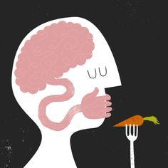 Eating disorder illustration