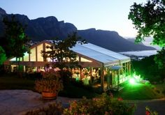Marque by night, the roundhouse restaurant cape town South Africa Holidays, Luxury Restaurant, Round House, Oh The Places You'll Go, Cape Town, Marina Bay Sands, Patio, Night, Building