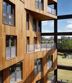 The UK's tallest hybrid cross laminated timber (CLT) structure, providing 50 homes over 10 storeys on a unique cruciform plan.