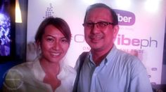 Myself with Viber Philippines Country Manager Crystal Lee.