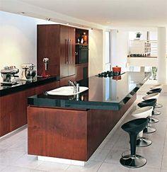 Cozinha - Ilha/Balcão
