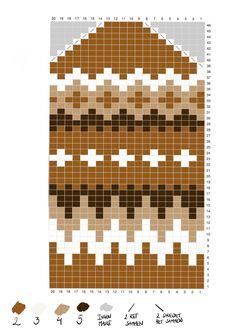 Mittens Pattern, Knit Mittens, Knitting Socks, Knitting Charts, Knitting Patterns, Knit Crochet, Crochet Hats, Fair Isle Knitting, Mug Rugs