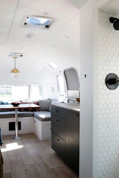 House Tour: A Renovated 1972 Airstream Trailer | Apartment Therapy