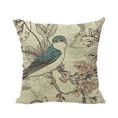 Valdler Pastoral style A Cotton Linen Square Throw Pillow Case Decorative Cushion Cover Pillowcase Valdler http://www.amazon.com/dp/B00SR7HSW6/ref=cm_sw_r_pi_dp_sGhgvb07CT1RT