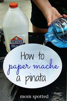 This DIY Birthday Pinata was a blast to make! Use regular items around your house to make this pinata and then fill with candy! Paper Mache Pinata, Paper Mache Diy, Making Paper Mache, Paper Mache Crafts For Kids, Birthday Pinata, Diy Birthday, Birthday Ideas, Birthday Boys, Birthday Cakes